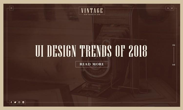 Design trends – 2018